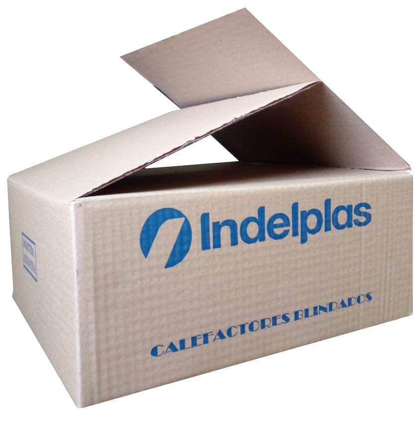 Caja de cartón corrugado para la industria