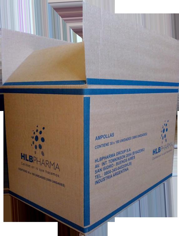 Cajas de Cartón Corrugado para laboratorios e industria farmacéutica